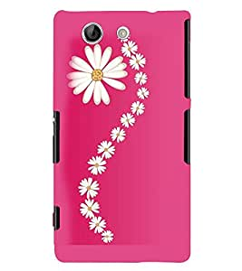 Printvisa Assorted Floral Pattern Back Case Cover for Sony Xperia Z4 Mini::Sony Xperia Z4 Compact