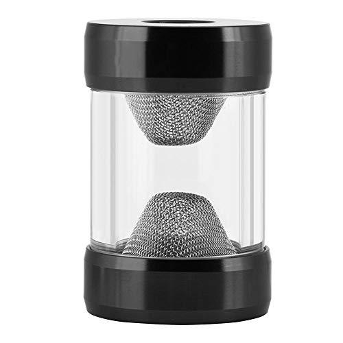 Asixx Filtro di Raffreddamento ad Acqua, Filtro purificatore Filtro Acqua con Filettatura Interna G1 / 4 o Filtro di Raffreddamento ad Acqua Filtro a Imbuto a Schermo fine Adatto(Nero)