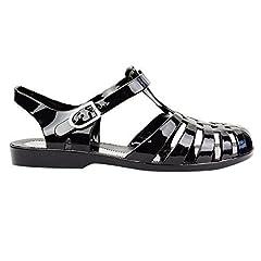 2403e7ee2a93 Ladies womens girls flat summer beach jellies retro jelly sandals ...