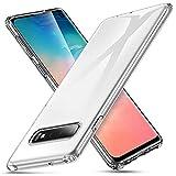Carcasa de silicona transparente Galaxy S10