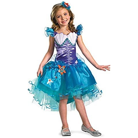Disguise Girl's Disney The Little Mermaid Ariel Tutu Prestige Costume,