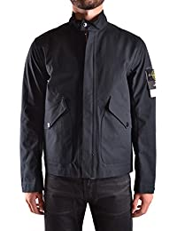 Stone Island Men's MCBI284141O Blue Cotton Outerwear Jacket