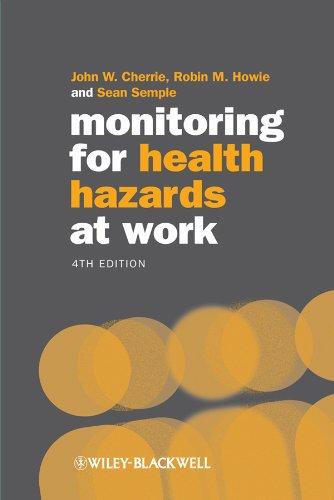 Monitoring For Health Hazards At Work por Robin Howie epub