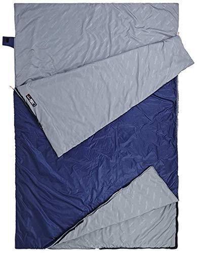 Camping Schlafsack Outdoor Doppel für einfaches Tragen Sommer Dünn Abnehmbar 1yess
