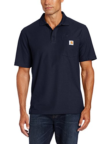 CARHARTT WORKWEAR Poloshirt »K570 Contractor's Work Pocket Polo« XL, navy (Mischung Polos)
