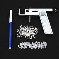 Preisvergleich für 1 Satz Professionelle Edelstahl Ohr Nase Nabel Körper Piercing Gun Mit 72 stücke Ohrring Ohrstecker Schmuck Werkzeug...