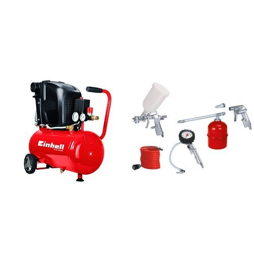 Einhell TE-AC 230/24 - Compresor + Kit aire comprimido