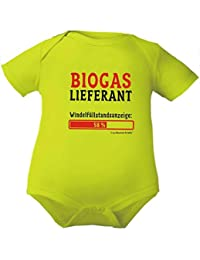 Kleiner Fratz Baby Body Mädchen Kurzarm Jungen Motiv Babybody Biogaslieferant