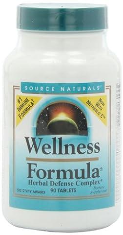 Source Naturals, Wellness-Formel, Kräuterverteidigung-Komplex, 90tabs mit Andrographis & Astragal