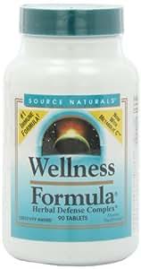 Source Naturals, Wellness Formula, Herbal Defence Complex, 90 Tablets