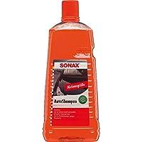 SONAX AutoShampoo Konzentrat (2 Liter) durchdringt und löstr Schmutz gründlich, ohne Angreifen der Wachs-Schutzschicht…
