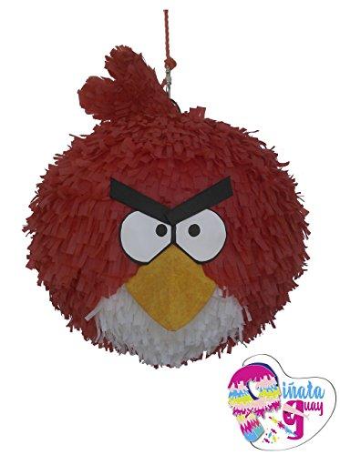 (Pinata roter Vogel) 3D (Angry Birds-pinata)