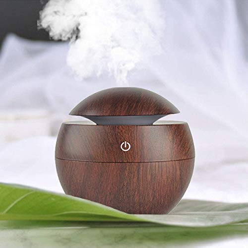 Exseson Portable Mini Wood Finish Aroma Atomization Humidifier For Home Office and Car