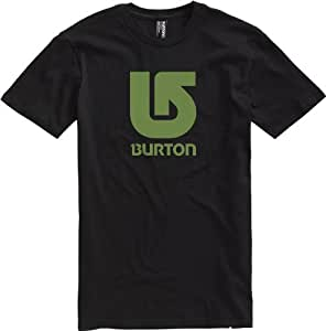 Burton Herren T-Shirt Logo Vertical, true black, M, 267279