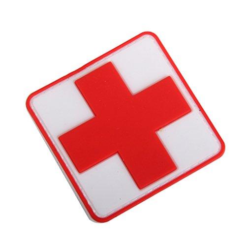 generic-allaperto-ponto-soccorso-pvc-distintivo-di-croce-rossa-hook-loop-fastener-badge-patch-zaino-