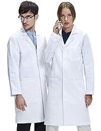 Dr. James Blouse Blanche de Laboratoire • 245 Gramme Qualité Supérieure