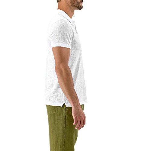 Vilebrequin - Solid-Polohemd aus Frottee - Herren Weiß