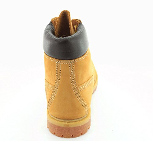 Timberland 6 inch Premium Boot, Bottes Classiques Femme Wheat