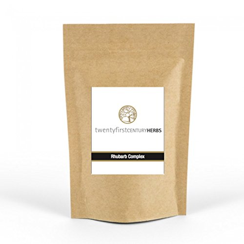 Rhubarb Complex TM 60 Capsule Eco Pouch – Award Winning Formula – All Natural Detox &#82...