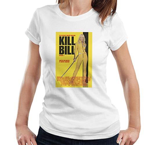 Kill Bill Movie Poster Beatrix Kiddo Yellow Sword