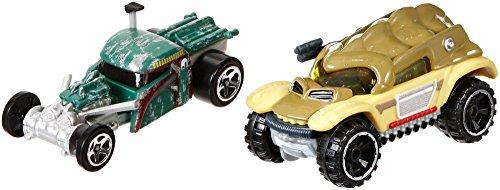 Star Wars Fahrzeug Set Boba Fett und Bossk Hot Wheels Star Wars Charakter Fahrzeuge im Set