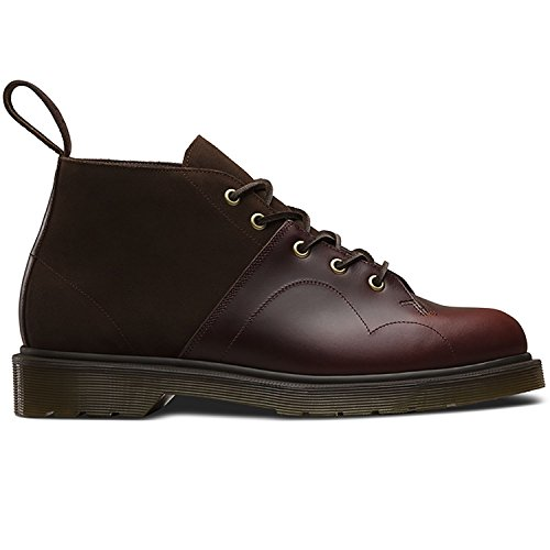 Dr.Martens Mens 5-Eyelet Church Monkey Leather Boots