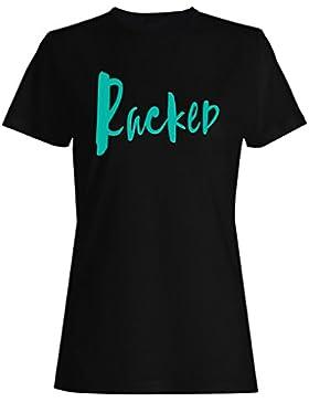 Atormentado camiseta de las mujeres c131f