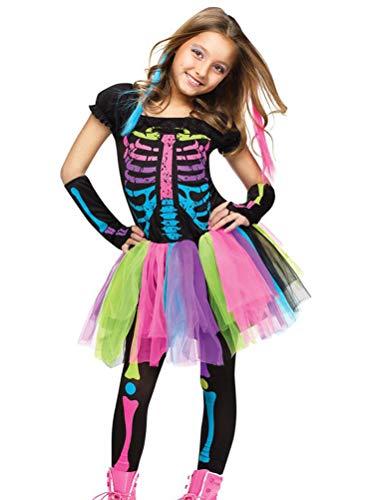 Odziezet Disfraz Esqueleto Halloween Niña