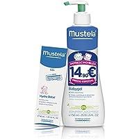 Mustela - Babygel hipoalergénico 750ml + hydra bebe crema hidratante de cara 40ml Bebe