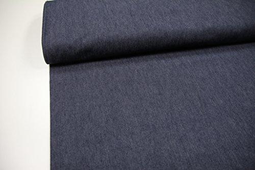 Stoff / Meterware / ab 25cm / beste Jeans-Qualität / Jeans stretch uni grau-blau (2) (Stretch-jeans Am Besten)