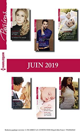 12 romans Passions (n°797 à 802 - Juin 2019) (French Edition)