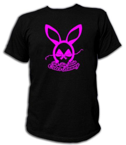 h bin dein Oster Bunny Unisex, Größe L, schwarz (Oster Bunny Kostüm Für Erwachsene)