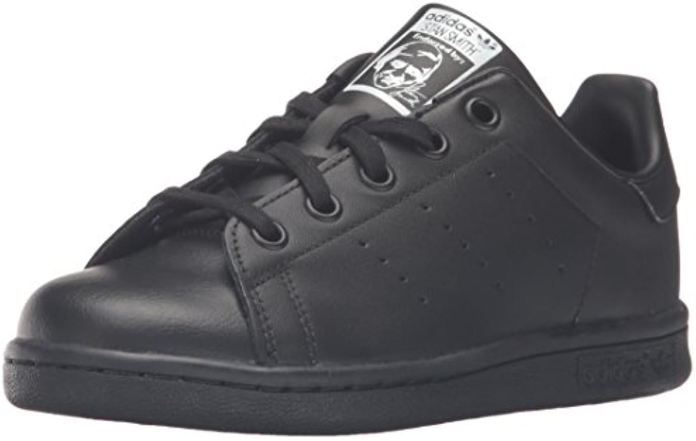 adidas originals unisexe noire enfants stan smith el c patiner chaussure, noire unisexe / Noir  - bla ck, 10 ,5 m petit 927923