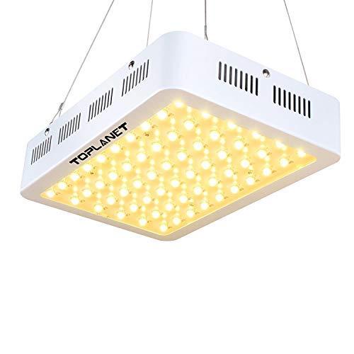 Toplanet Led Pflanzenlampe 300w Wachstumslampe Pflanzenlicht Full Spectrum Led Zimmerpflanzen für Grow Box/Indoor/Greenhouse von Gemüse, Nutzpflanzen und Blumen