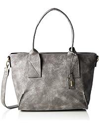 H1362, Womens Top-Handle Bag, Grau (Nebbia), One Size Rieker