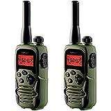 Topcom RC-6406 – Walkie-talkie, Edición Airsoft, Dos Auriculares de Seguridad Incluidos