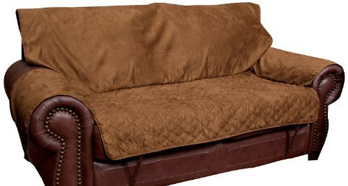 Solvit Loveseat Full Coverage Pet Bed Protector, Cocoa by Solvit Products