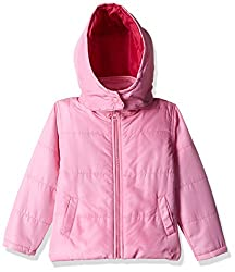 612 League Girls Jacket (ILW00S630012C_Pink_9-10Y)