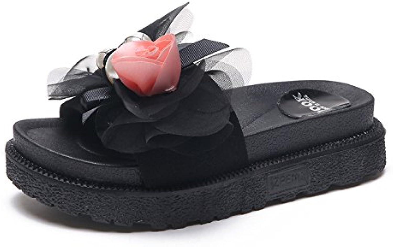 les femmes whlChaussure s pantoufles pantoufles pantoufles mode mode confortables pantoufles confortable s d'épais gl issant bas de plage...b07dh7pndh mère ad68ef