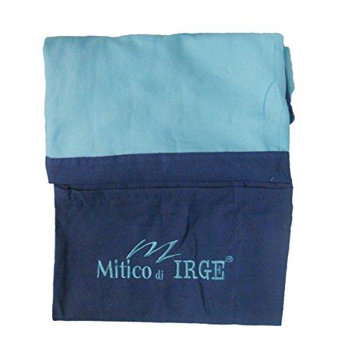 IL MITICO DI IRGE telo lettino mare in microfibra con tasche laterali ed elastici...
