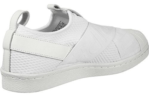 adidas Superstar Slipon W, Scarpe da Ginnastica Donna Bianco (Ftwr White/Ftwr White/Core Black)
