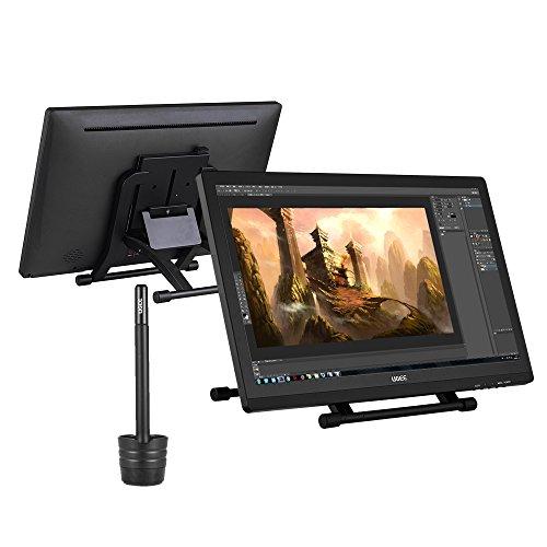 """Foto Ugee 2150 21.5 Schermo 1080P HD Graphics Drawing Tablet """"IPS Monitor di Visualizzazione Supporto Regolabile w / 2 * Penna Intelligente"""