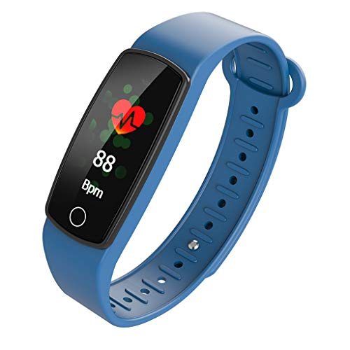 Haludock IP67 Waterproof Long-Standby Smart Multi-Language Monitor Heart Rate Bracelet Color Bracelet Color Armband BT 4.0 für iOS Android