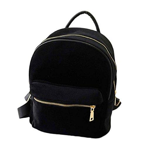 fami-or-velvet-petit-sac-a-dos-school-book-sac-a-bandouliere-pour-les-femmes-noir
