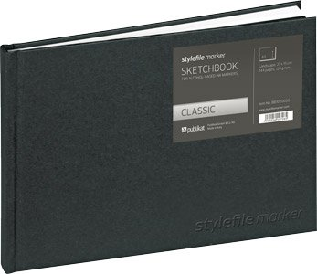 Stylefile Marker Classic Skizzenbuch Din A5 horizontal quer -