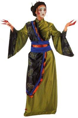 Limit Sport-Kostüm Geisha Gold, für Erwachsene, Größe L (MA281)