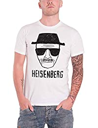 Plastic Head Men's Breaking Bad Heisenberg Sketch Short Sleeve T-Shirt