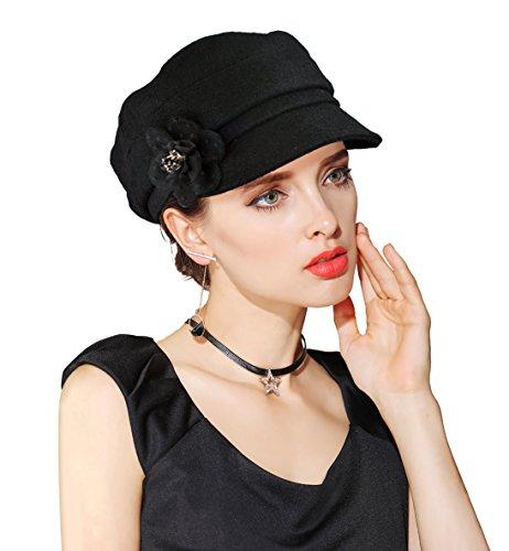 EINSKEY Ladies Beret Hat Winter ...