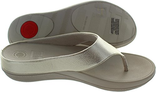 Superlight Ringer Toe Post - Pale Gold Leather Or