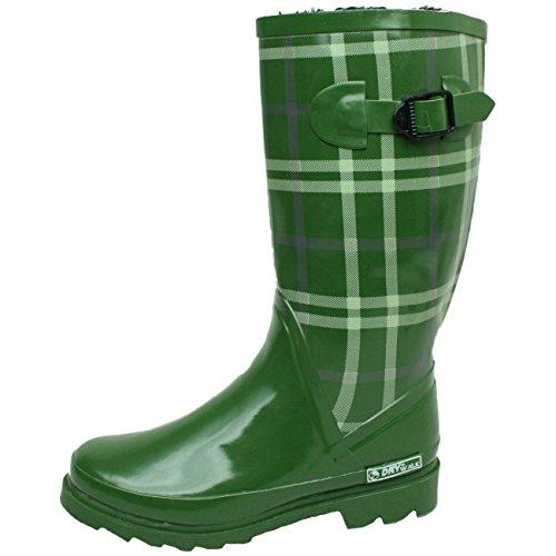 renner-ellen-stivali-alla-moda-con-fodera-per-scaldare-i-piedi-verde-verde-42